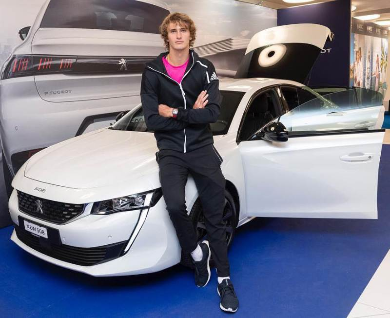 Alexander Zverev's cars collection: Peugeot