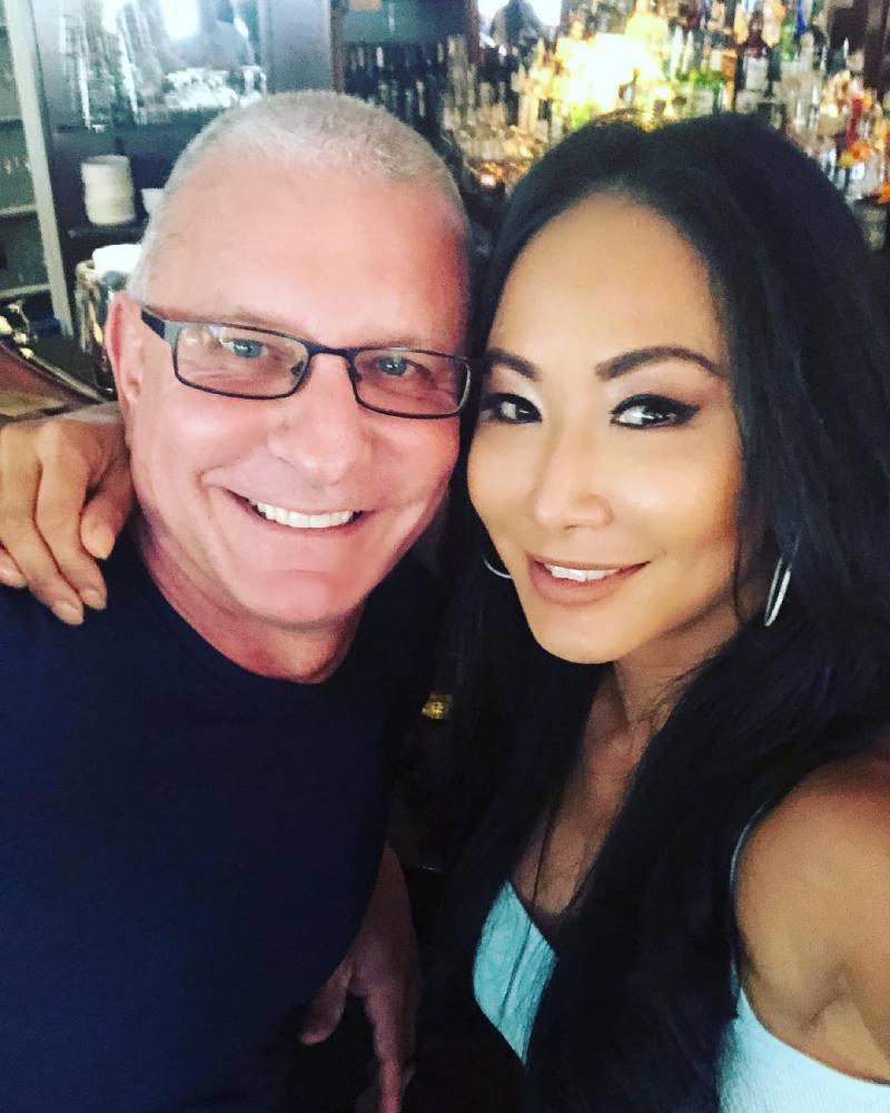 Robert Irvine with his wife Gali Kim Irvine