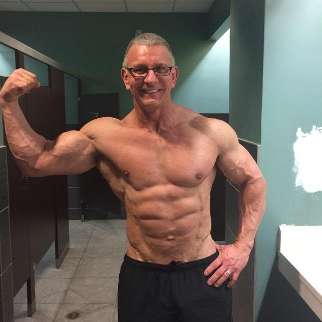 Robert Irvine's fit body