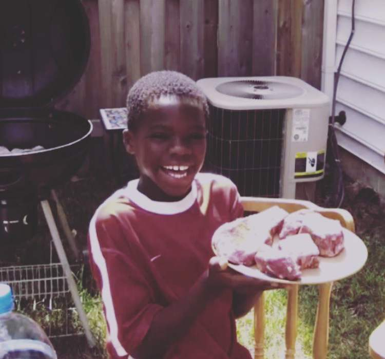 Frances Tiafoe as a 8-year-old kid
