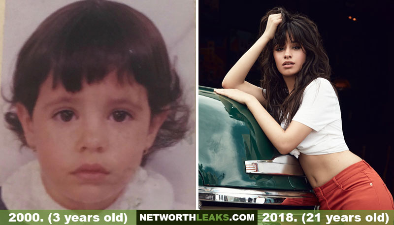 Camila Cabello Then and Now Photos