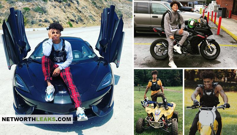 HeartBreak Kid Kamrin Houser cars, ATV, dirt bike, McLaren, motorbike