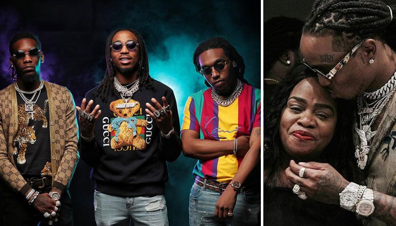 Quavo (Migos) family: Brothers and mother