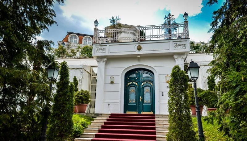 Bogoljub Karic house in Belgrade - Villa Jelena