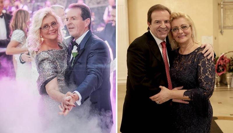 Bogoljub Karic wife Milanka Karic dancing
