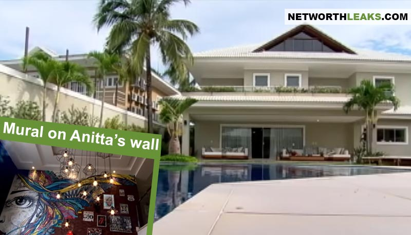 Anitta's house photos