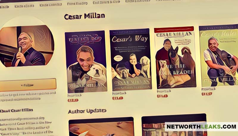 Cesar Millan's books list