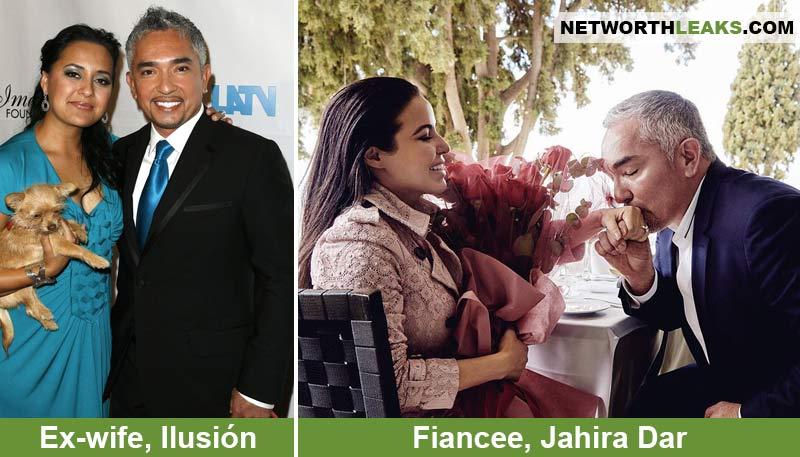 Cesar Millan's ex-wife Ilusion Millan-Wilson and his fiancee Jahira Dar