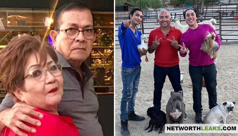 Cesar Millan's parents and kids photos