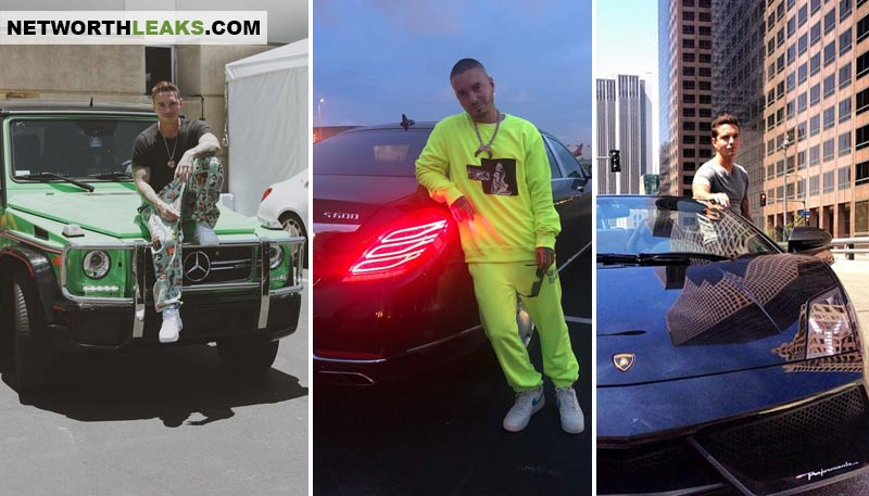 J Balvin's cars collection photos