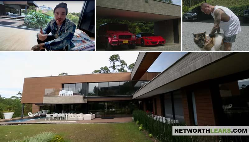 J Balvin's house photos