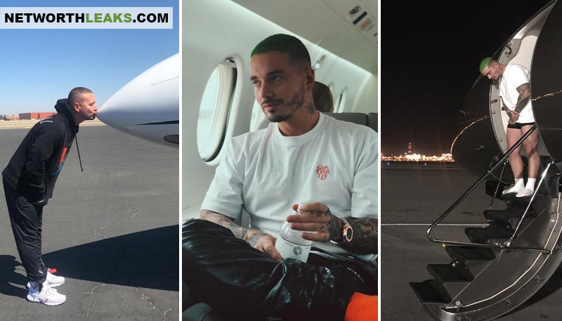 J Balvin's private airplane