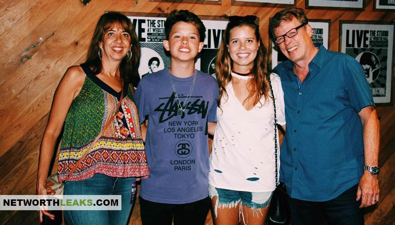 Jacob Sartorius family: Sister, mother and father