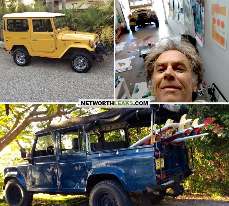David Carson's cars collection - Land Rover SUVs