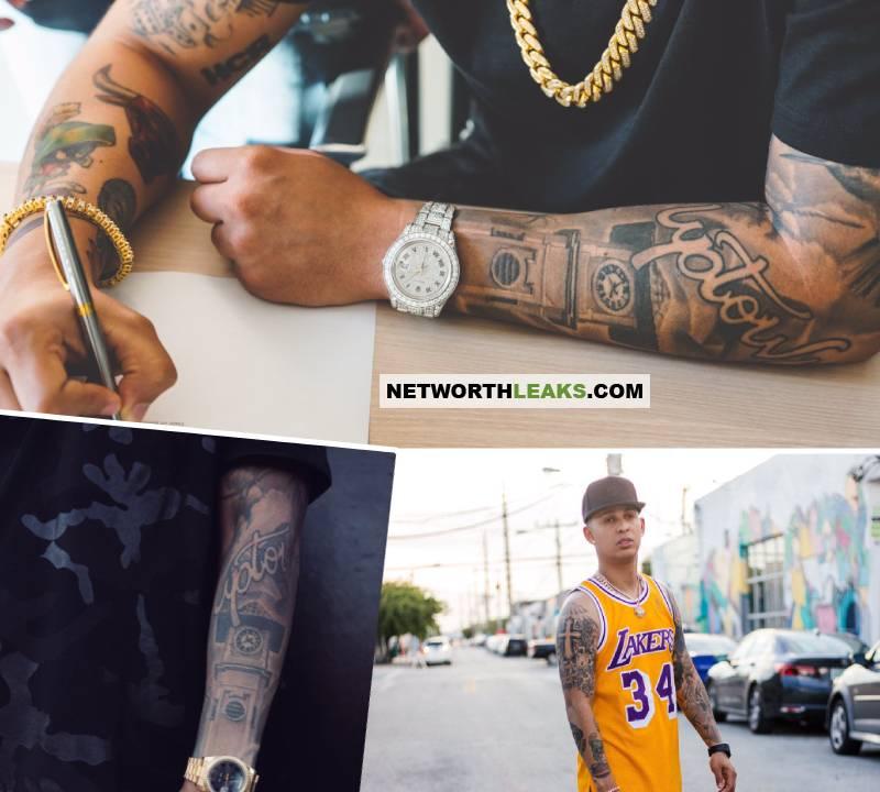 Rvssian's tattoos