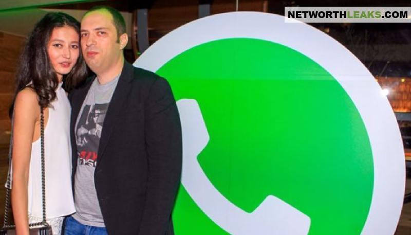 Jan Koum, the WhatsApp founder, with his girlfriend Evelina Mambetova