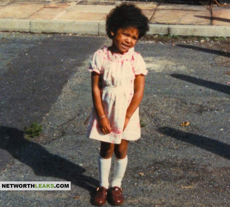 Mel B' as a kid, before the fame