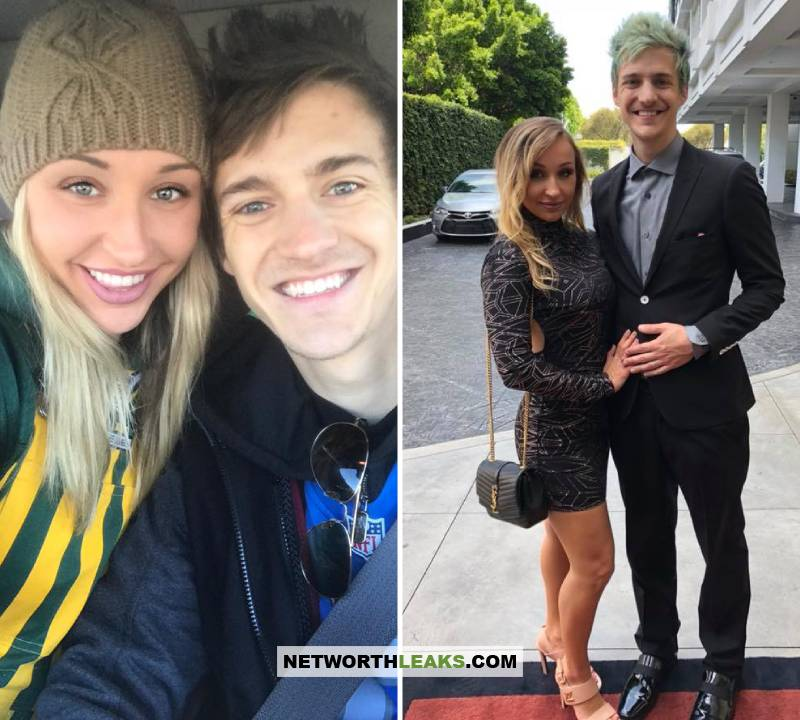 Ninja (Tyler Blevins) with his wife Jessica Blevins