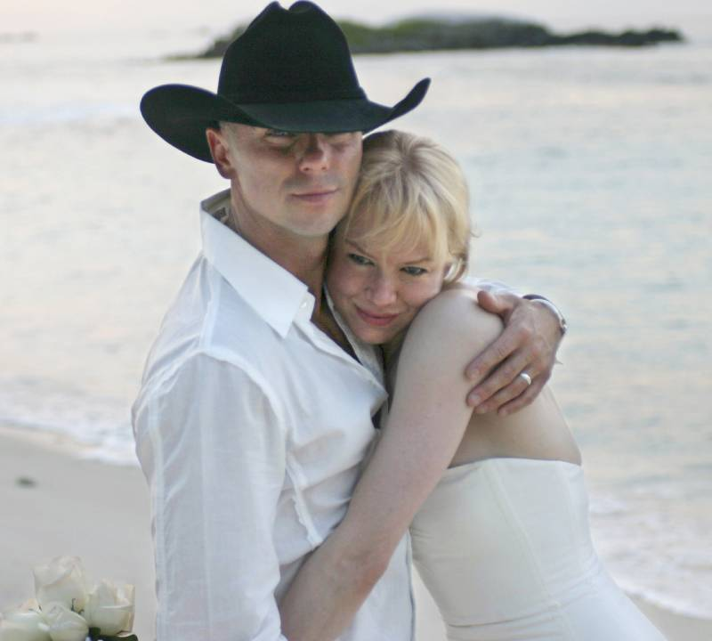 Kenny Chesney and his ex-wife Renée Zellweger