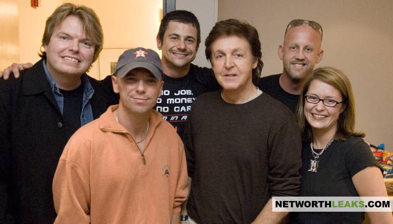 Kenny Chesney and Paul McCartney, friends