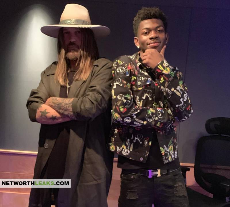Lil Nas X with Billy Ray Cyrus