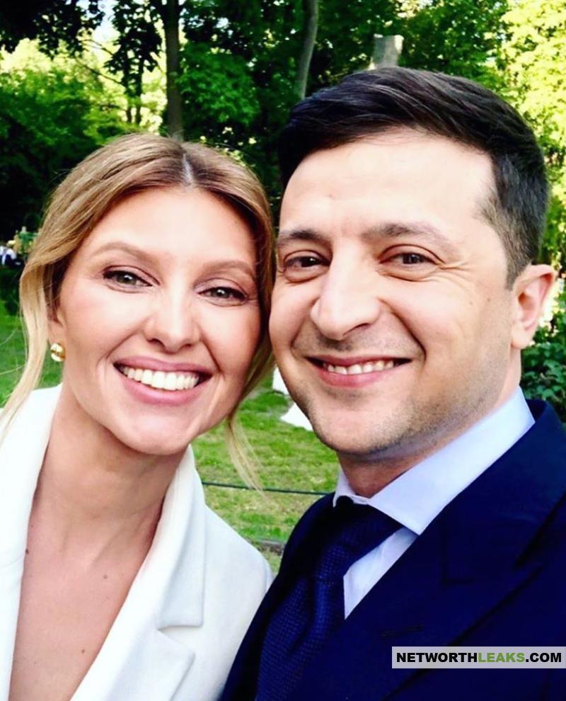Svetlana Loboda with Volodymyr Zelensky