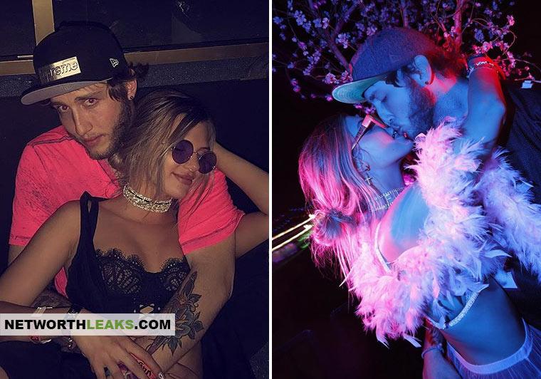 Alissa Violet with her boyfriend Ricky (FaZe) Banks